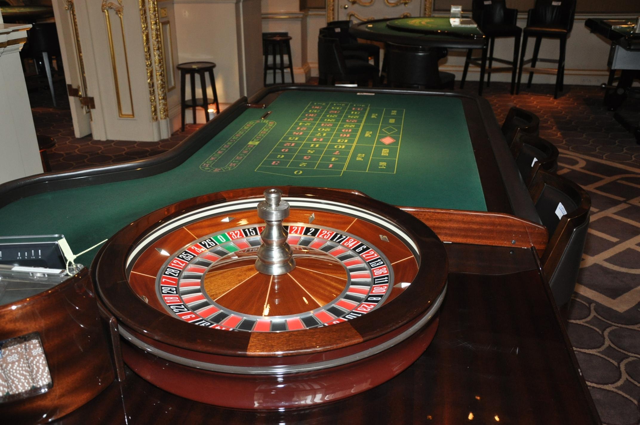 Tavolo roulette francese